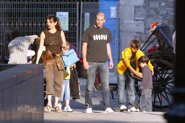 Zidane & family in Montreal