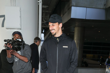 Zlatan Ibrahimovic Zlatan Ibrahimovic At LAX