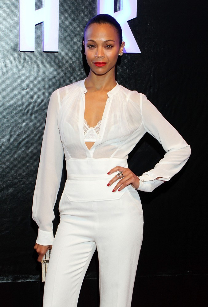 Zoe Saldana - 'Star Trek Into Darkness' Premieres in Mexico