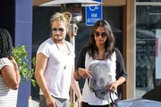 Zoe Saldana and Marco Perego Go Out to Lunch