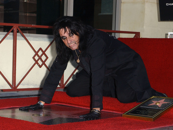 alice cooper walk of fame
