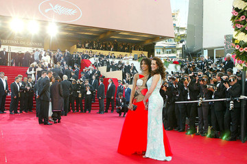 Andie MacDowell Celebrities at 56th Cannes International Film Festival