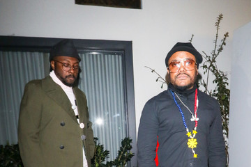 will.i.am apl.de.ap Will.i.am Stands Outside Stanley Social In West Hollywood