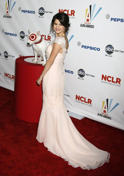 Selena Gomez Celebrities arrive for the 2009 ALMA Awards at Royce Hall on the UCLA campus in Westwood, CA.
