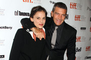 Celebrities attending the 2011 Toronto Film Festival premiere of 'The Skin I Live In' in Toronto, Canada.