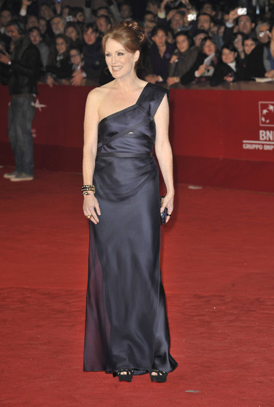 "Julianne Moore attends the ""The Kids Are Alright"" premiere during the 5th International Rome Film Festival."