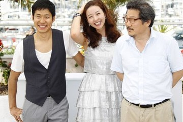"Hong Sangsoo Sun Mi Song 64th Annual Cannes Film Festival - ""The Day He Arrives"" Photo Call"