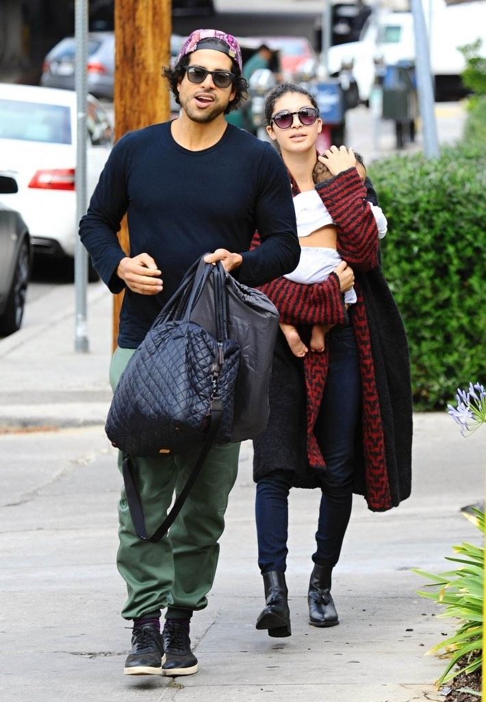 EXCLUSIVE Adam Rodriguez and Wife Grace Gail Expecting