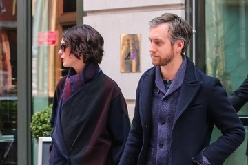 Adam Shulman Anne Hathaway and Adam Shulman Out in NYC — Part 2