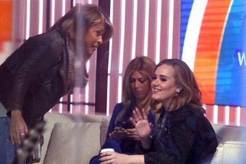 Adele Adele Appears on 'The Today Show'