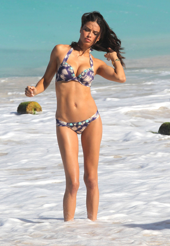 Adriana Lima In Adriana Lima Shows Off Her Bikini Body