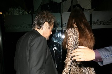 Al Pacino Celebs Get Dinner in Beverly Hills