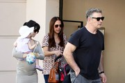Alec Baldwin and Hilaria Thomas Out and About