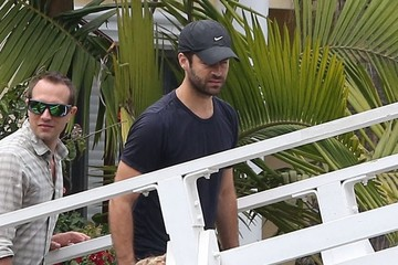 Aleph Portman-Millepied Benjamin Millepied & Son Aleph Out With Friends In Venice