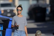 Alessandra Ambrosio Steps Out in Brentwood