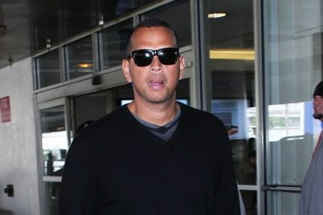Alex Rodriguez Alex Rodriguez Arrives at LAX