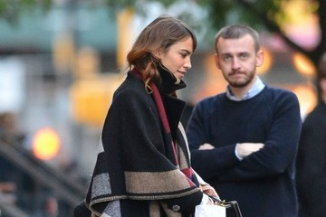 Alexa Chung Alexa Chung Out And About In NYC