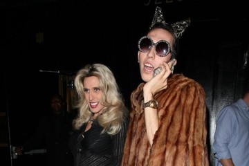 Alexis Arquette Celebrities Attend Bootsy Bellows Nightclub