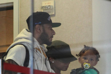 Egypt Dean Alicia Keys Departs LAX with Her Family