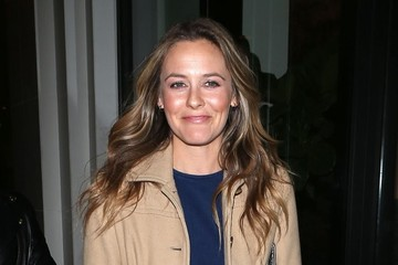 Alicia Silverstone Celebrities Visit Catch Restaurant in West Hollywood