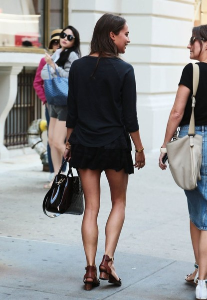 Alicia Vikander Alicia Vikander Photos Alicia Vikander Out And About In Nyc Zimbio
