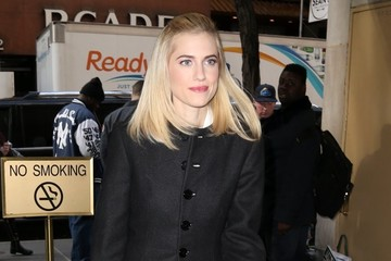 Allison Williams Celebrities At 'The Today Show'