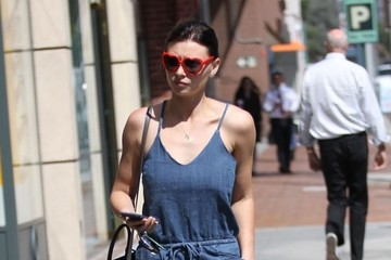 Alyson Michalka Aly Michalka Runs Errands in Beverly Hills