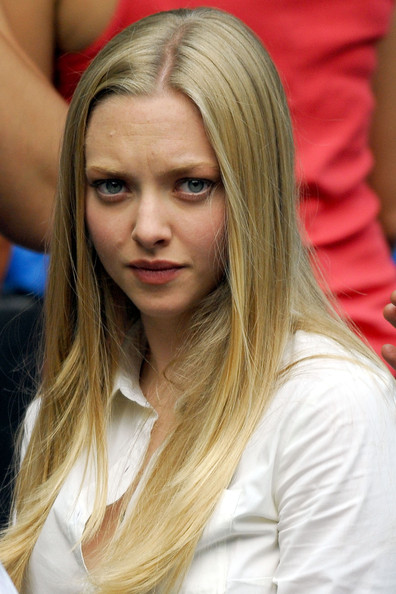 Amanda Seyfried Amanda Seyfried, from 'Mama Mia,' films her latest movie,