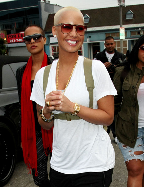 model amber rose with hair. Amber Rose Model Amber Rose
