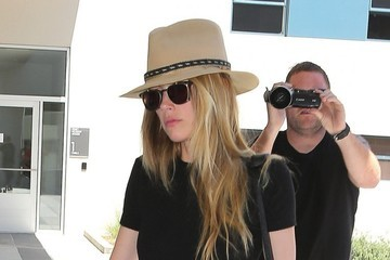 Amber Heard Amber Heard Stops By An Office In West Hollywood