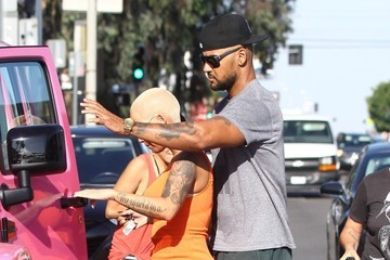 Amber Rose Amber Rose Shops in West Hollywood with Her Son
