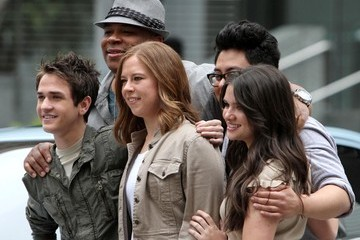 Katie Stevens The American Idol Finalists Filming A Ford Commercial