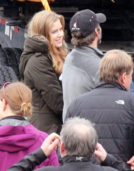 Amy Adams On The Set Of 'Man Of Steel' []