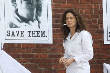 Amy Brenneman 'The Leftovers' Films in NYC