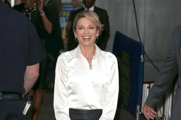 Amy Robach Celebs Drop by 'GMA'