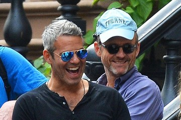 Andy Cohen Andy Cohen Stops by Sarah Jessica Parker's Daughters' Lemonade Stand