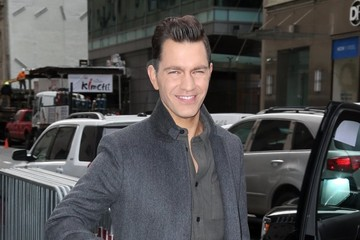 Andy Grammer Celebrities At 'The Today Show'