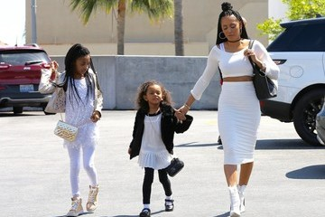 Angel Iris Murphy-Brown Mel B Heads Out With Her Daughters