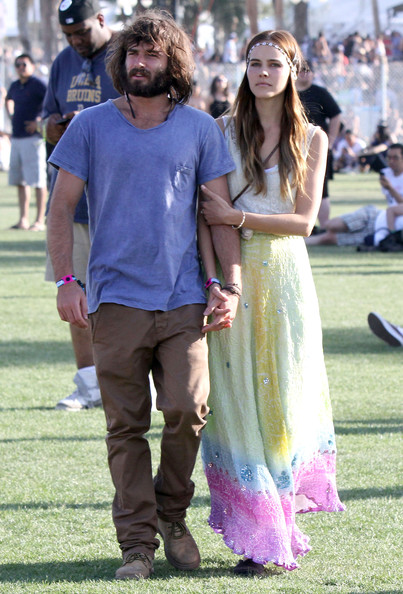 Isabel Lucas And Angus Stone At The 2011 Coachella Music Festival []