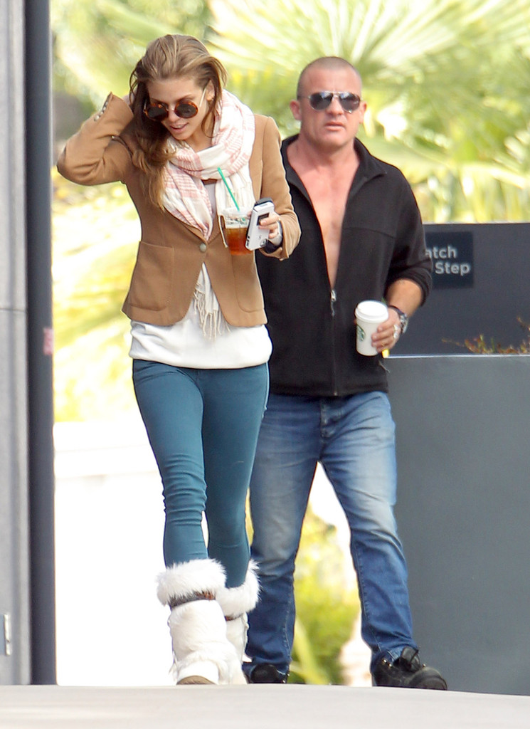 Dominic Purcell And Annalynne Mccord AnnaLynne McCord Pictures
