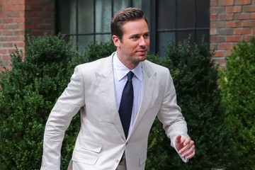 Armie Hammer Celebrities Head To 'The Man From U.N.C.L.E.' Premiere