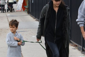 Arthur Bleick Selma Blair Takes Her Son To Get A New Dog