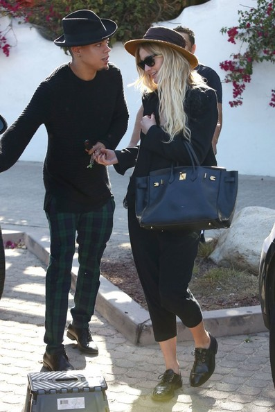Ashlee Simpson and Evan Ross Get Lunch - Zimbio Ashlee Simpson Ross