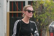 Ashlee Simpson Gets Her Workout in