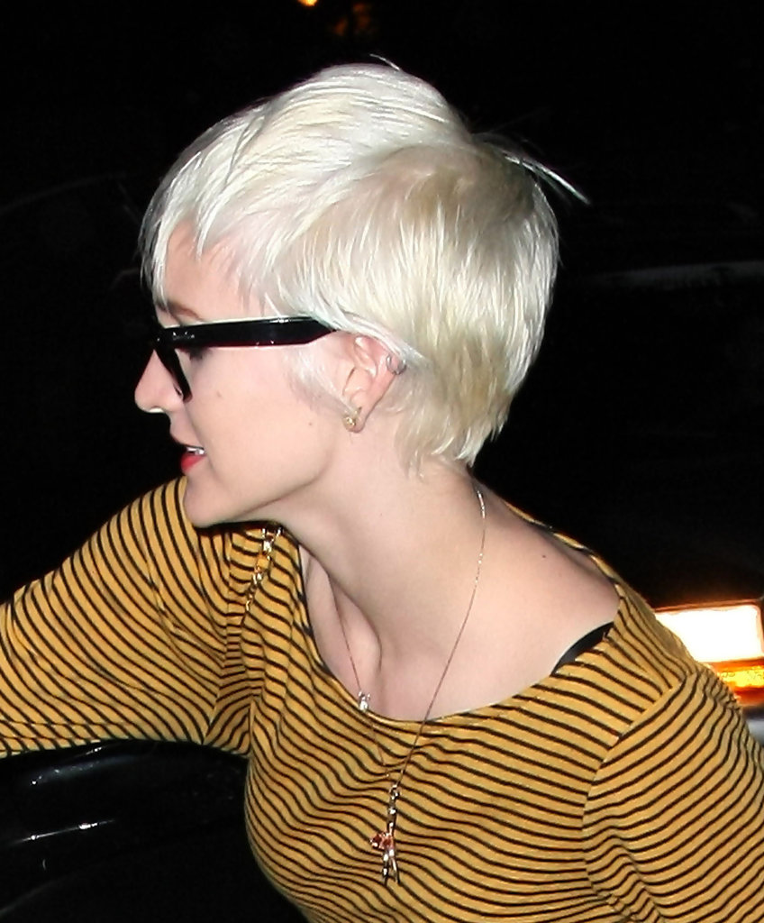 Ashlee Simpson Wentz Leaving The Andy Lecompte Salon In West