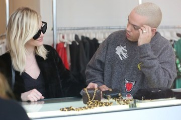 Ashlee Simpson Evan Ross & Ashlee Simpson Shopping In Beverly Hills