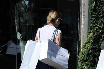 Ashley Benson Ashley Benson Shopping on Melrose With a Friend