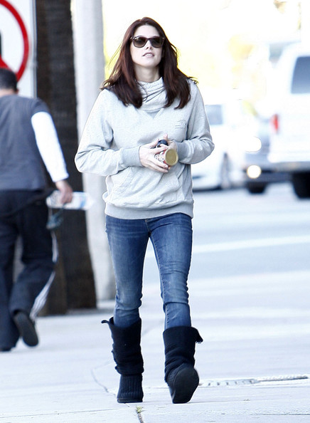 Ashley Greene Actress Ashley Greene out running some errands in Hollywood, CA.