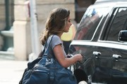 Ashley Greene Catches a Ride in NYC