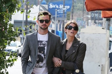 Ashley Greene Ashley Greene and Paul Khoury Get Lunch